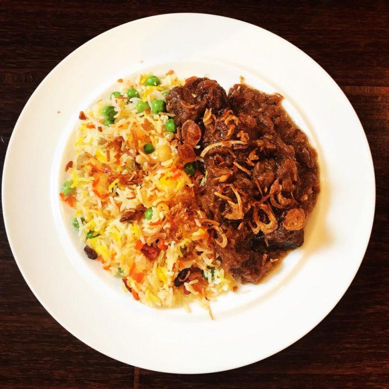 弾む牛塊を食う!ミャンマービーフカレーという民族料理