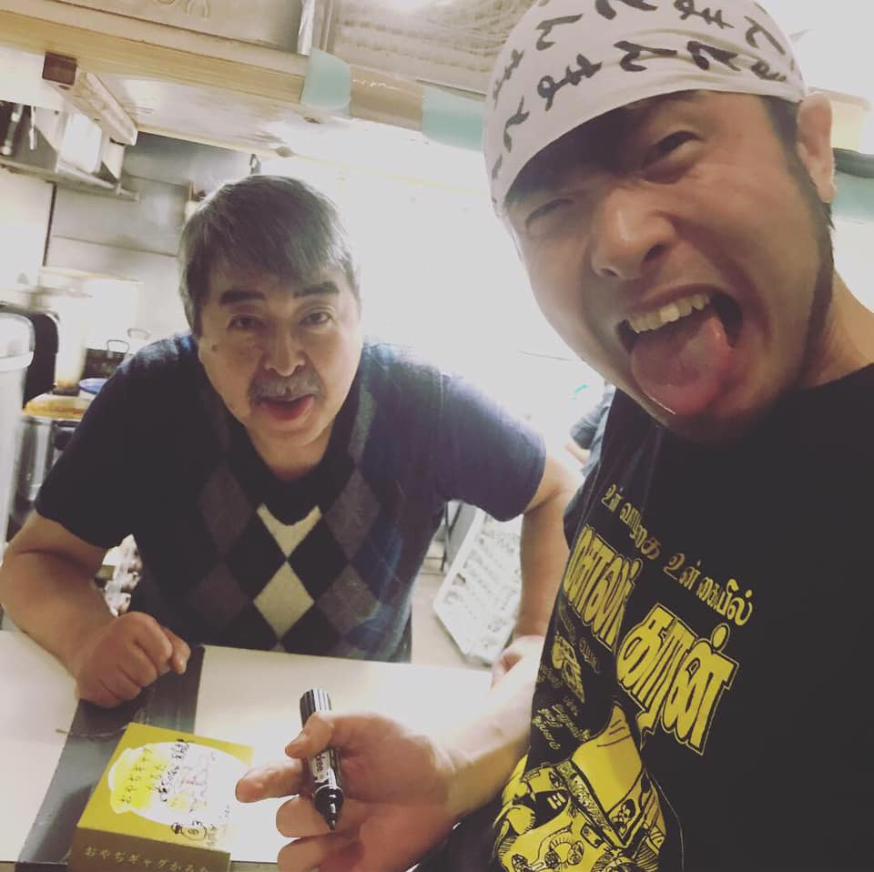 沼尻さんとマサラワーラーの武田さん