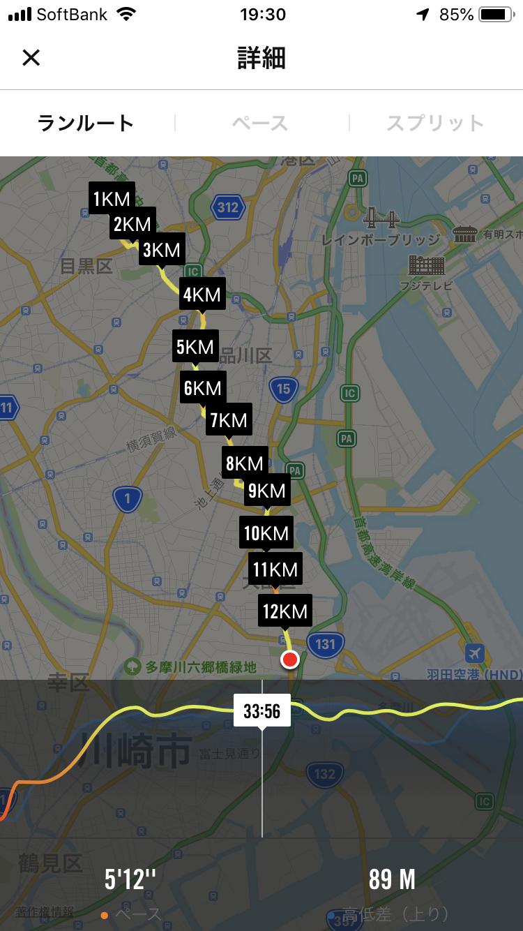 14kmの道のり
