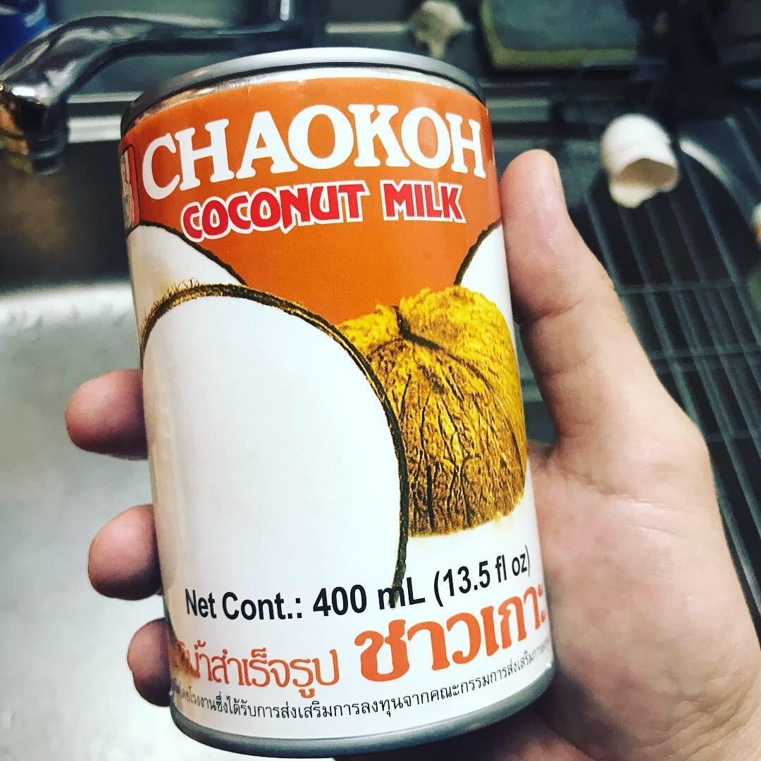 ココナッツミルクはチャオコーよ
